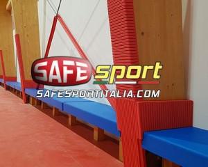 Le sportive protezioni antitrauma per pilastri e colonne