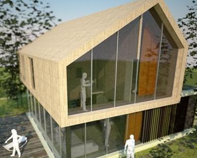 Prototipo di casa unifamiliare for Piani di casa unifamiliari
