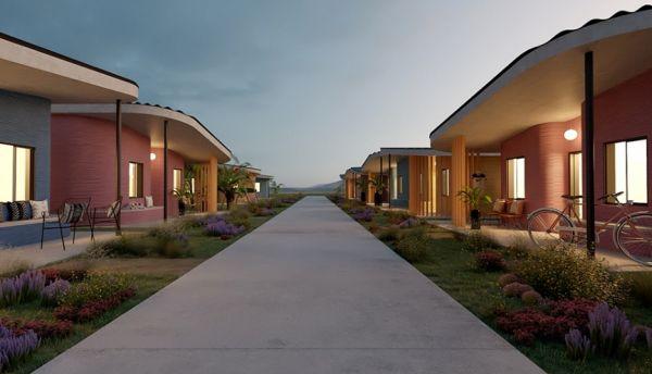Progettato in America latina il primo quartiere fatto di case stampate in 3d