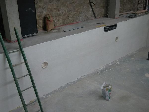 Rasante cementizio a presa rapida X-Rapid bianco
