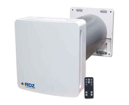 WHR 60 sistema RDZ per la ventilazione meccanica controllata con recupero di calore