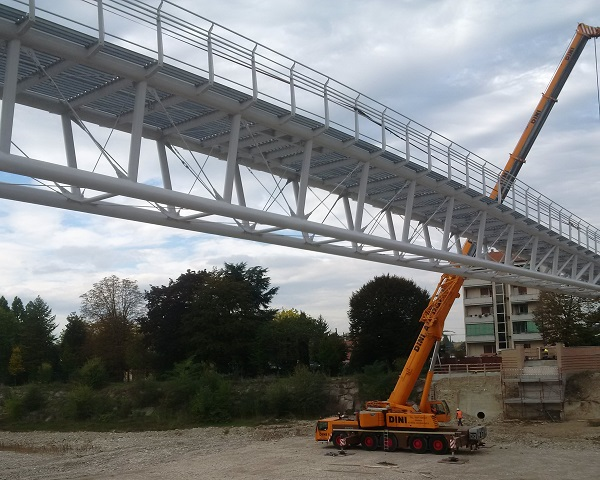 """Ponte ciclopedonale """"Ponte della Navetta"""""""