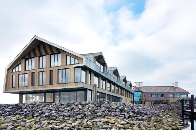 Tetti di zinco Zintek per il Resort Waterrijk Oesterdam nei paesi Bassi