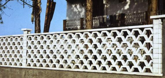 Recinzioni in cemento