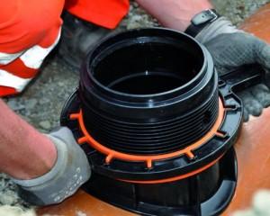EASY CLIP, connettore speciale per la fognatura