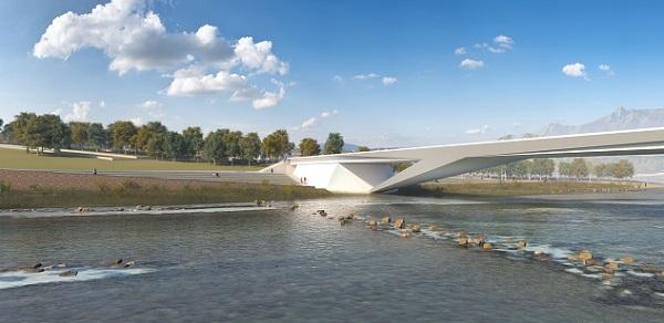 Progetto del nuovo ponte sul Piave