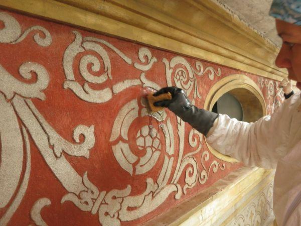 Il restauro delle facciate a Villa Castelli a Lecco