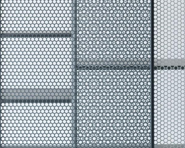 Reti metalliche, i nuovi materiali per l'architettura