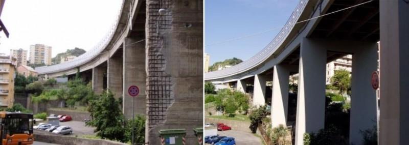 Ripristinare un ponte in calcestruzzo degradato con i prodotti Azichem: prima e dopo l'intervento
