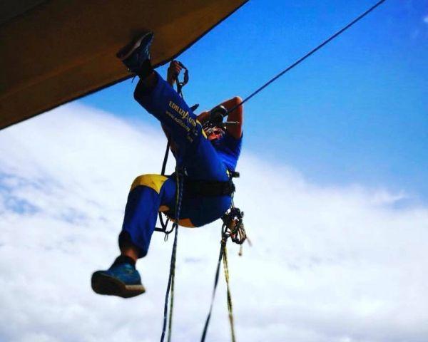 EdiliziAcrobatica, prima azienda edile su corda per le ristrutturazioni edilizie
