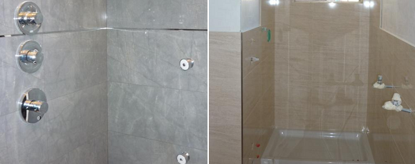 Superfici rivestite con ceramiche Porcelanosa