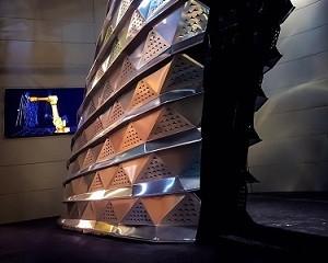 Dalla progettazione parametrica nasce SQUALO, il rivestimento metallico Nieder