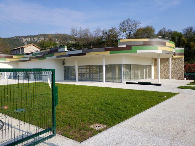 Pannelli rockwool per il centro polivalente a Marciaga di Costermano sul Garda
