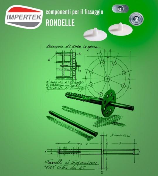 Componenti per il fissaggio - rondelle per coperture