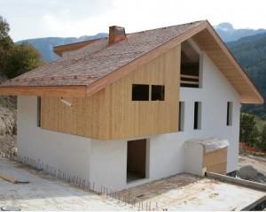 Casa Rossi, la tecnologia XLam all'opera