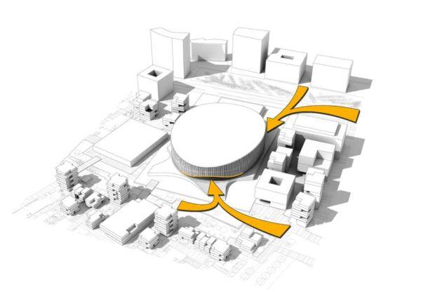 Il progetto Royal Arena di Copnhagen