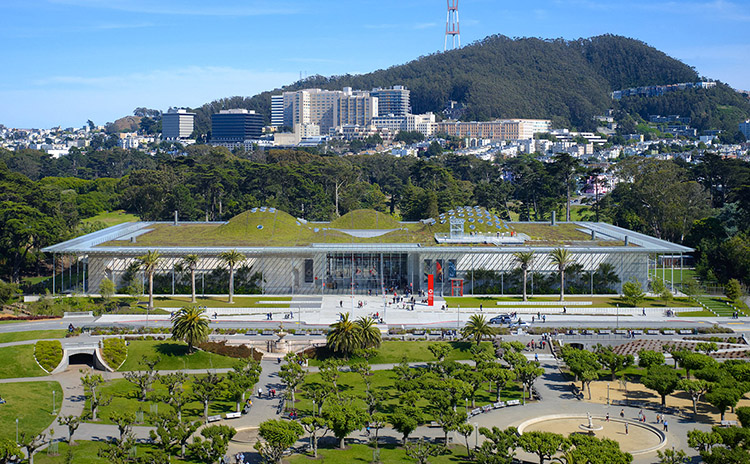 California Academy of Sciences San Francisco, California Architect: Renzo Piano Building Workshop