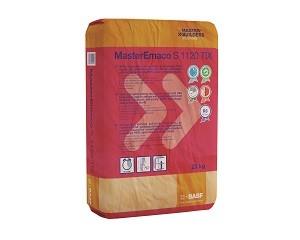 MasterEmaco S 1120 TIX: malta tixotropica per il ripristino e la rasatura del c.a.