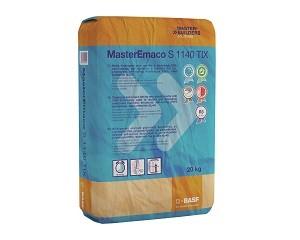 MasterEmaco S 1140 TIX: malta tixotropica per il ripristino e la rasatura del c.a.