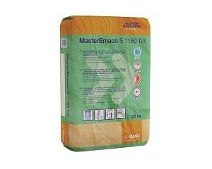 MasterEmaco S 1160 TIX: malta tixotropica per il ripristino del c.a.