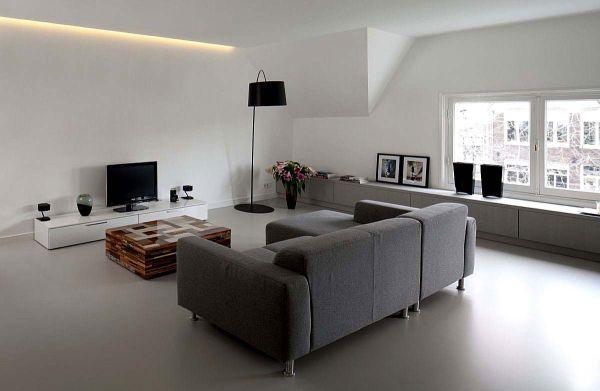 Pavimenti in resina una scelta di tendenza - Pavimenti in cemento per interni pro e contro ...