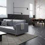 Nuovi effetti marmo e legno per il sistema CONTINUO
