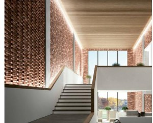 Presentato a Cersaie MAAX, il Mattone Artistico e Architettonico eXtralarge