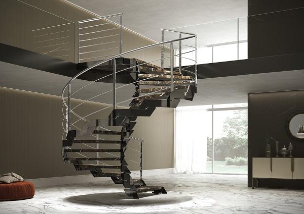 DIVA, la scala elegante e flessibile realizzata da Fontanot