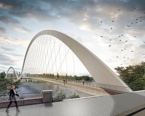 "Il ponte ""Lávka Holešovice Karlín"", tra passato e futuro"