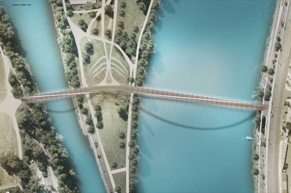 "Il ponte di Praga ""Lávka Holešovice Karlín"", collegamento tra passato e futuro"