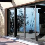Finestre e porte scorrevoli in alluminio NC-S 65 STH