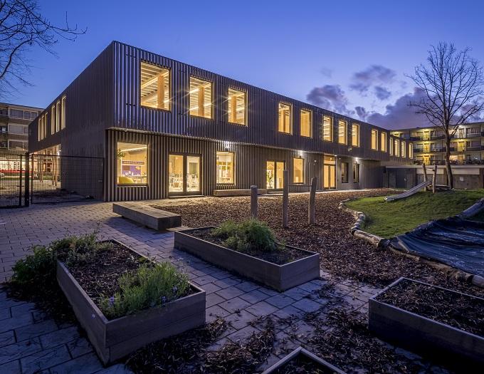 Scuola elementare sostenibile Het Epos