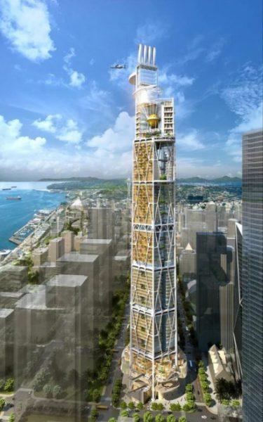 Seattle 2030: progetto di grattacielo del futuro