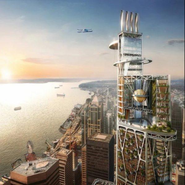 Seattle 2030: i grattacieli a dieci anni dall'emergenza Covid