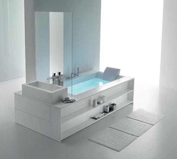 Vasca Da Bagno Con Seduta E Legno Oggetti Design : Linea di vasche idromassaggio sensual