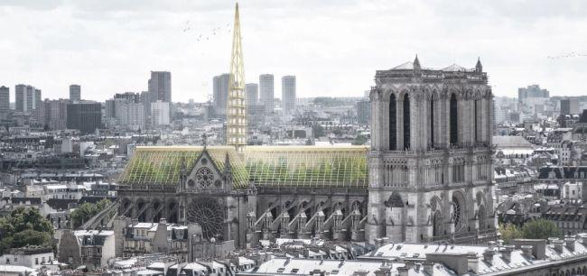 Progetto di riqualificazione della cattedrale di Notre Dame dello studio NAB