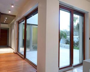 Serramenti legno-alluminio Metra
