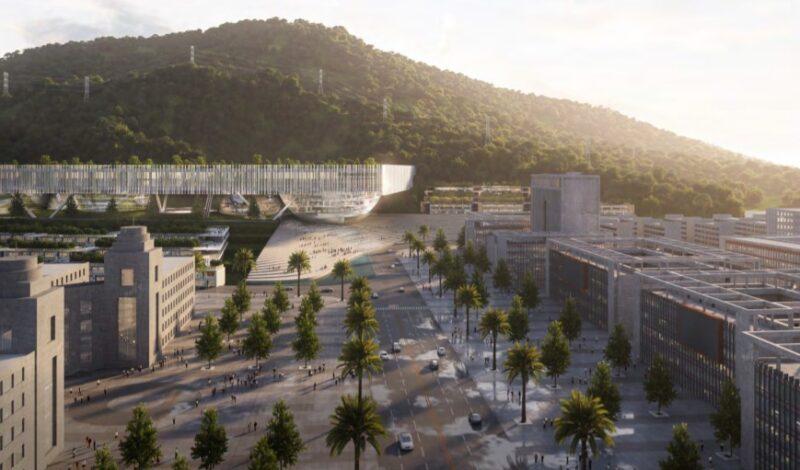 Nuovo istituto di design e innovazione a Shenzhen. Sviluppo orizzontale