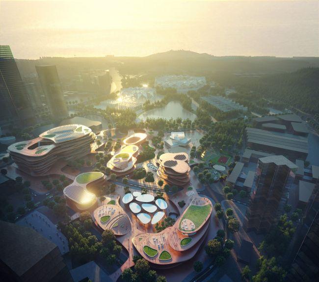 Shenzhen Terraces, quartiere urbano sostenibile