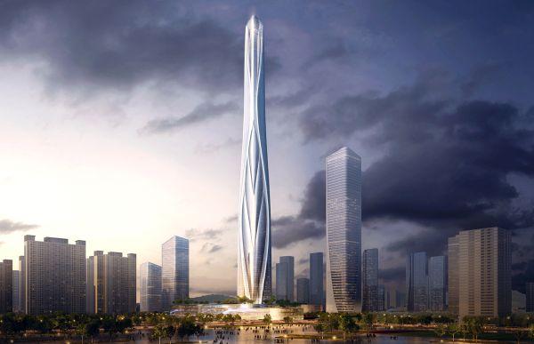 A Shenzhen il grattacielo di vetro più alto di tutta la Cina