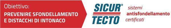 SICURTECTO® è la soluzione antisfondellamento certificata per mettere in sicurezza i solai da problemi di sfondellamento