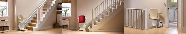 Montascale Siena per scale dritte