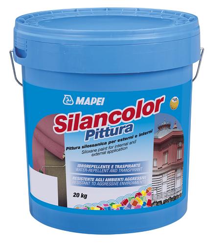 Pittura murale decorativa e protettiva Silancolor di Mapei