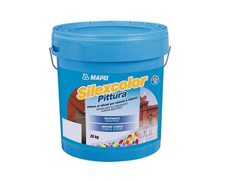 Pittura ai silicati SILEXCOLOR di Mapei per superfici verticali esterne ed interne