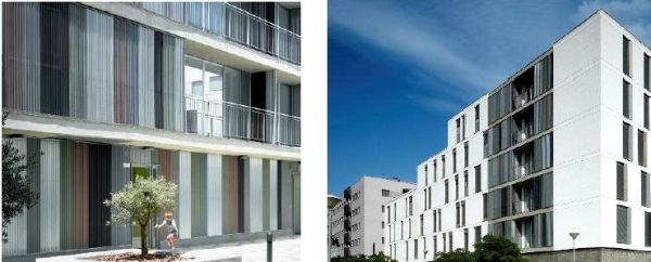 Progetto di housing sociale a Siviglia con zinco VM zinc
