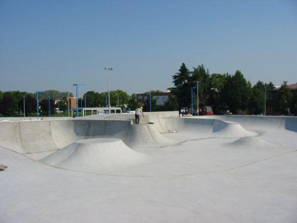 Riqualificazine dell'area industriale del Bargellino, lo skate park