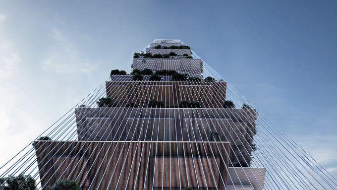 Skylines: il grattacielo futuristico e autosufficiente per la città di New York