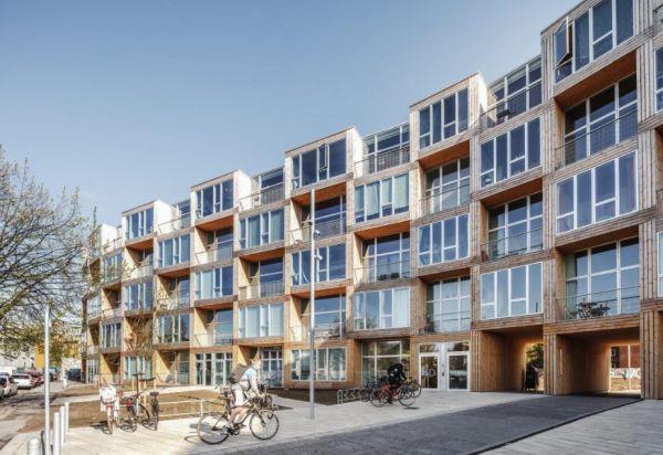 Progetto di social housing Dortheavej a Copennaghen dello studio BIG