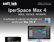 IperSpace Max 4 – Il programma di calcolo strutturale adesso nativo anche per MacOSX