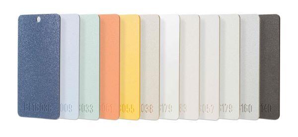 Lastre LEXAN™ CLINIWALL di Sogimi disponibili in molti colori